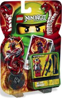 LEGO Ninjago 9566 Samurai X Spinner Pack 23 pcs NEW IN BOX Free
