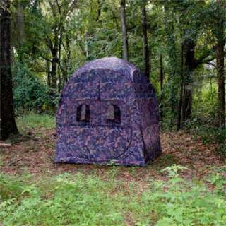 NEW GROUND Turkey HUNTING Hub BLIND DEER decoy cover 812927013342