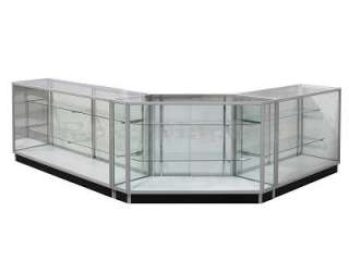 Extra Vision Display Case Store Fixture #Glass combo 1