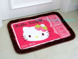 Sanrio Hello Kitty Dining Room Bedroom Bathroom Door Mat Rug Carpet 67