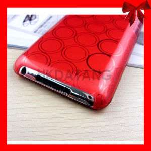 New red Soft TPU Case Cover for iPod Touch 4th Gen 4 G