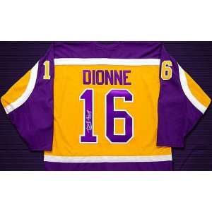 Marcel Dionne Autographed Jersey:  Sports & Outdoors