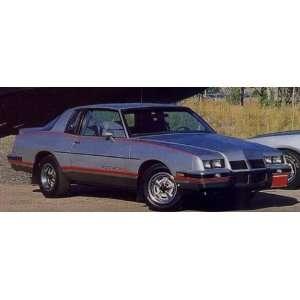1995 96 Grand Prix Deck Lid Decal   Teal: Automotive