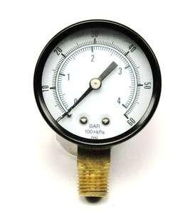 low pressure  0   60LBS, replacement gauge for co2 regulator