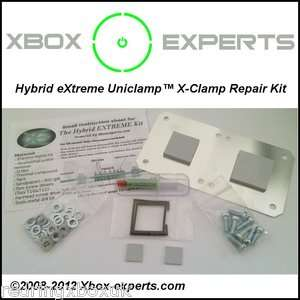 NEW** Xbox 360 Repair Kit RROD Red Ring Xclamp Uniclamp