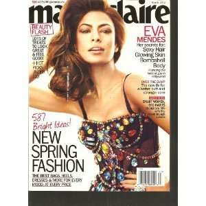 Marie Claire ~ March 2012 ~ Eva Mendes Marie Claire Books