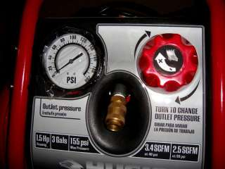 NAME BRAND 3 GALLON AIR COMPRESSOR MODEL H1503P |