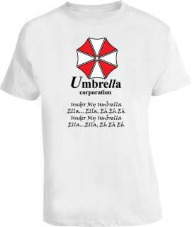 Umbrella Video Game Resident Evil Parody Funny T Shirt