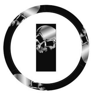 Plasticolor 006612R01 Skull Quick Grip Steering Wheel Cover