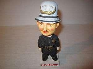 Vintage Policeman Nodder Bobblehead Keystone Cop Figure