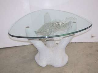 Small Green Turtle Table By John Didier VERY UNIQUE COFFEE TABLE