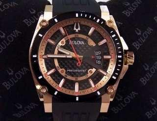 Bulova Watch Precisionist CHAMPLAIN Rose Gold 98B152