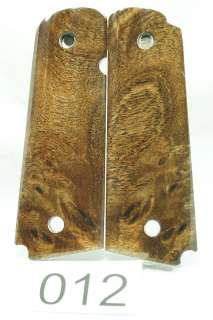 1911 Colt Pistol Grips Hand made Walnut Burl 12 sets