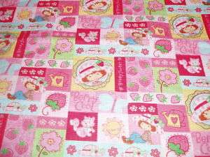 Strawberry Shortcake berry Baby Toddler sheet set PINK