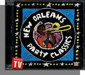 New Orleans Party Classics   New 2 CD Time/Life Set