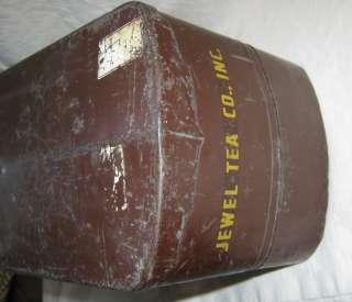 vintage jewel tea pottery truck trailer tonka toy |