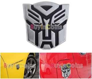Transformers Autobots Car Emblem Badge Sticker 3D #02