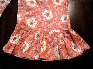 MATILDA JANE ART FAIR PINK DITTY FLOWER RUFFLES SIZ 5 6