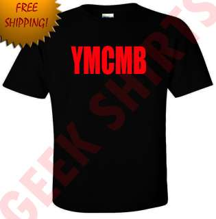 YMCMB T Shirt Money Wayne young weezy lil rap new hip hop tee by Geek