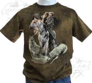 NATIVE AMERICAN KIDS T shirt indian train tee S/M/L/XL