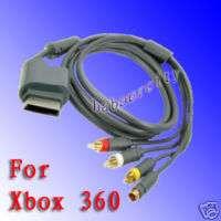 Video Audio Video AV S AV SAV Cable Cord For Xbox 360