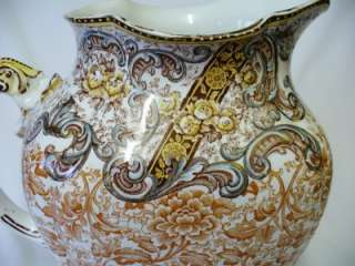 Large 19th c Doulton   Burslem   Water Pitcher   c 1882 +