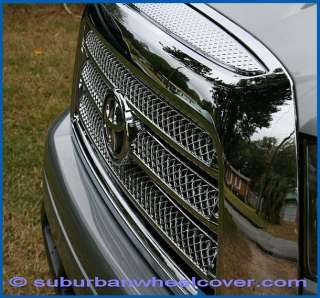 07 08 09 Toyota Tundra Chrome Grille Overlay / Insert