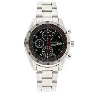 Seiko Mens SNN241 Chronograph Brown Dial Watch Seiko