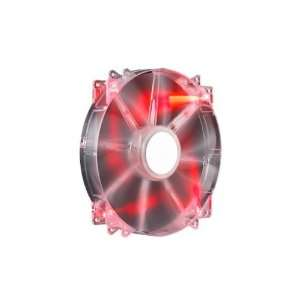 200 Red Led Silent Case Fan Add Extra Cooling Noise Level Electronics
