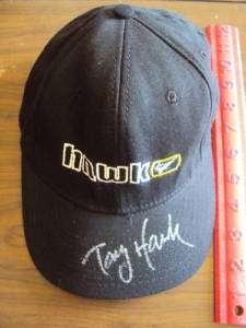 Tony Hawk Skating Autographed Hawk Youth Baseball Cap COA