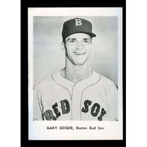 1961 Gary Geiger Boston Red Sox Jay Publishing Photo