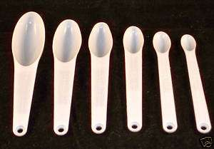 MEASURING SPOONS cooking chef measure SHIPS FROM NY