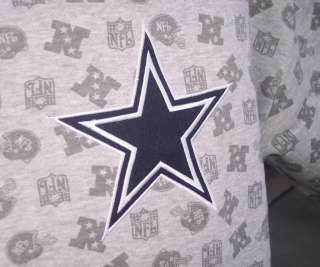 Dallas Cowboys NFL RBK Loud & Proud Sweatshirt 2XL XXL