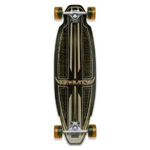 Gravity 29 Super Slalom   Complete Skateboard with Orange