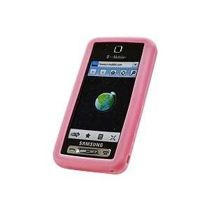 Cellet Samsung Behold T919 Pink Jelly Case Cell Phones