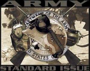 ARMY MILITARY STANDARD ISSUE T SHIRT TEE