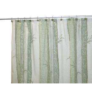 Famous Home Fashions Shower Curtain, Zen Garden