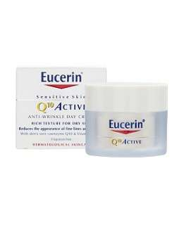 Eucerin Sensitive Skin Q10 Active Anti Wrinkle Cream   Boots