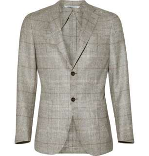 Clothing  Blazers  Single breasted  Kei Check Wool