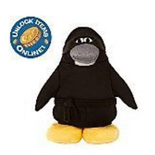 Disney Club Penguin 6.5 Plush Fire Sensei Toys & Games