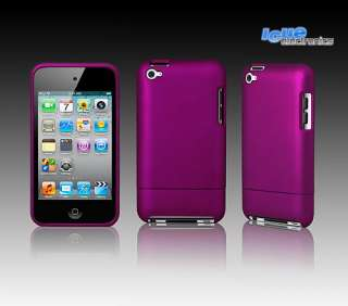 iPod Touch 4G 4 Hard Case Tasche Schutzhülle Etui BLACK