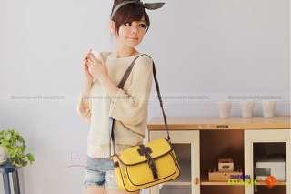 Women Fashion Vintage PU Crossbody Shoulder Bag #542
