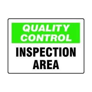 Sign,7x10 In,inspection Area   ACCUFORM SIGNS Everything