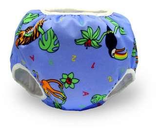 NEW Bummis Jungle Print Potty Training Pants S M L