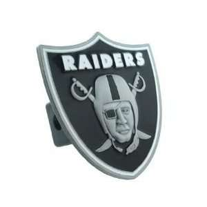 Oakland Raiders Large Logo Only Hitch Cover Sports