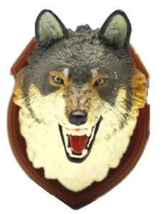 TAKARA TOMY HUNTING TROPHY TAXIDERMY WOLF HEAD