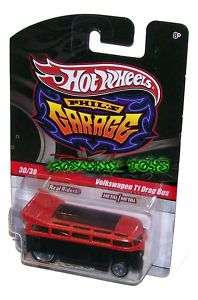 HOT WHEELS PHILS GARAGE VOLKSWAGEN T1 DRAG BUS ORANGE