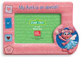Gund Sesame Street ABBY special AUNT picture frame