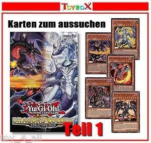 YU GI OH DRAGONS COLLIDE   SDDC DE000   SDDC DE030 Karten zum