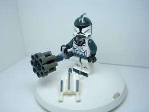 Lego Star Wars Clone Trooper Commander Arc Heavy Gunner